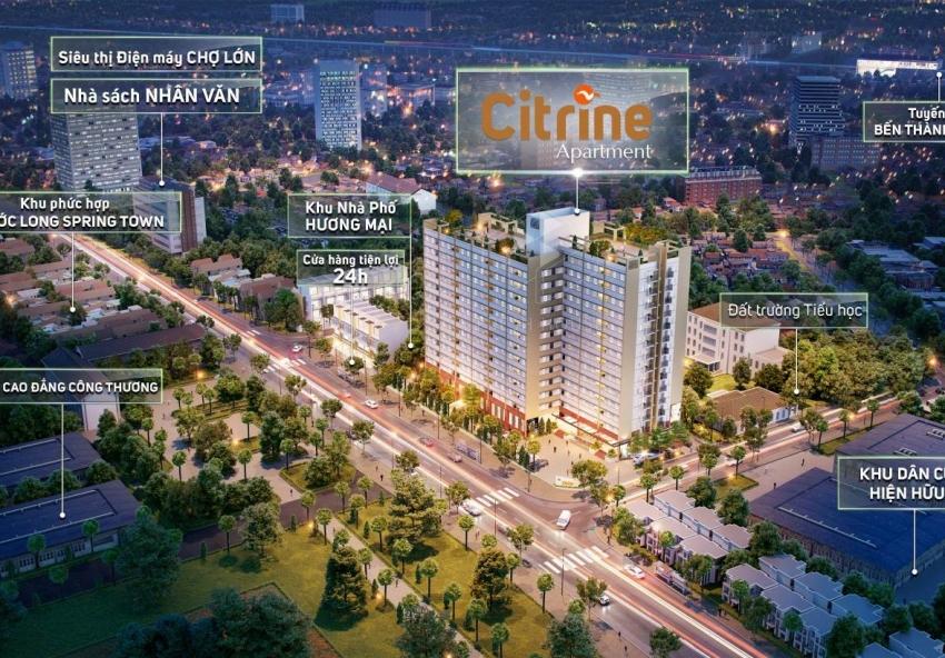 Dự án căn hộ Citrine Apartments