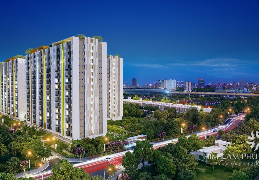 Dự án căn hộ Him Lam Phú An